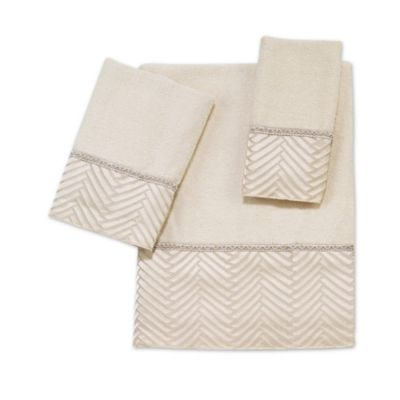 Avanti Interlace Fingertip Towel