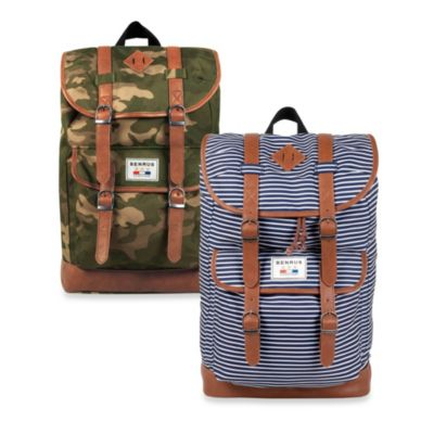 Benrus Scout Backpack in Green Camouflage