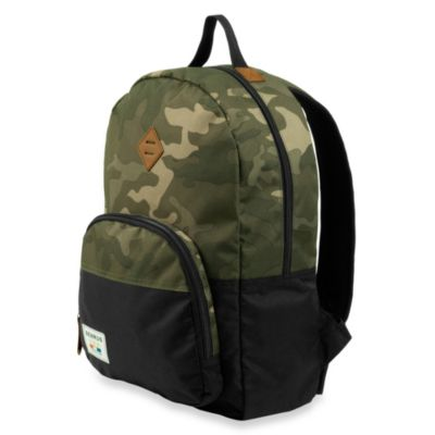 Green Camouflage Backpacks