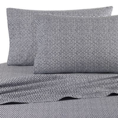 Nautica® Lawndale Twin Sheet Set in Navy