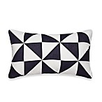 Nautica® Lawndale Boudoir Oblong Toss Pillow in Navy