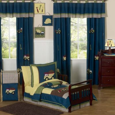 Sweet Jojo Designs Construction Zone 5-Piece Toddler Bedding Set