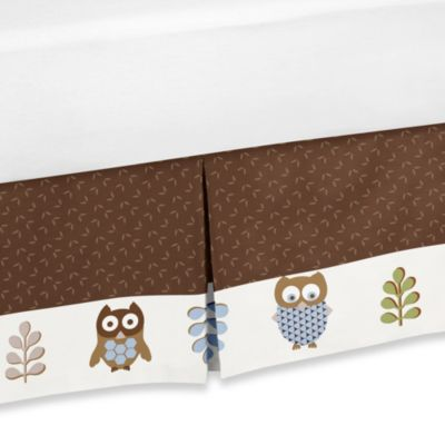 Sweet Jojo Designs Night Owl Bedskirt