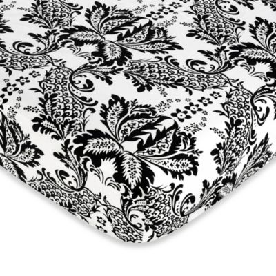 Sweet Jojo Designs Sophia Crib Sheet in Floral