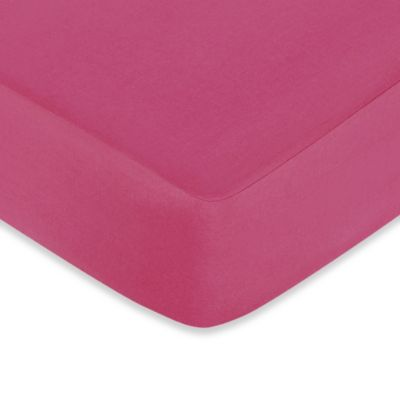 Pink Cotton Crib Sheets