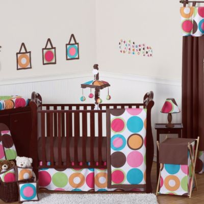 Sweet Jojo Designs Deco Dot 11-Piece Crib Set