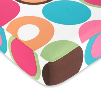 Sweet Jojo Designs Deco Dot Fitted Crib Sheet