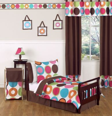Sweet Jojo Designs Deco Dot 5-Piece Toddler Bedding Set