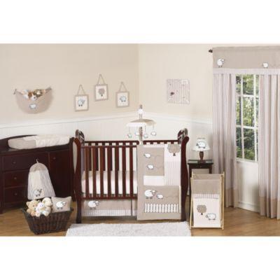 Lambs Crib Bedding Set