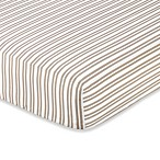 Sweet Jojo Designs Little Lamb Fitted Crib Sheet in Stripe