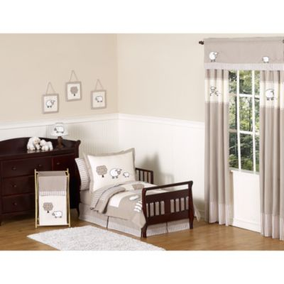 Sweet Jojo Designs Little Lamb 5-Piece Toddler Bedding Set