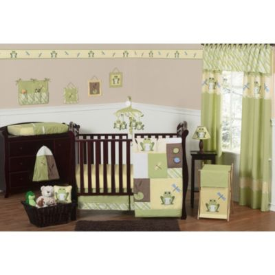 Sweet Jojo Designs Leap Frog Collection 11-Piece Crib Bedding Set