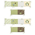 Sweet Jojo Designs Leap Frog Crib Bumper