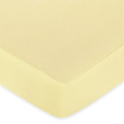 Sweet Jojo Designs Leap Frog Collection Fitted Crib Sheet in Yellow