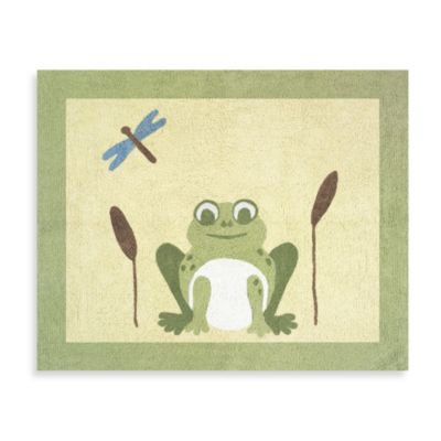 Sweet Jojo Designs Leap Frog Floor Rug