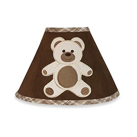 Sweet Jojo Designs Teddy Bear Lamp Shade In Chocolate