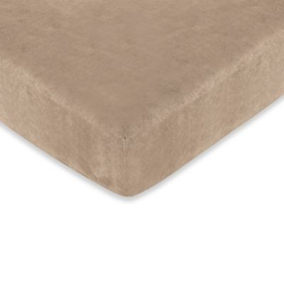 Sweet Jojo Designs Teddy Bear Fitted Crib Sheet in Brown