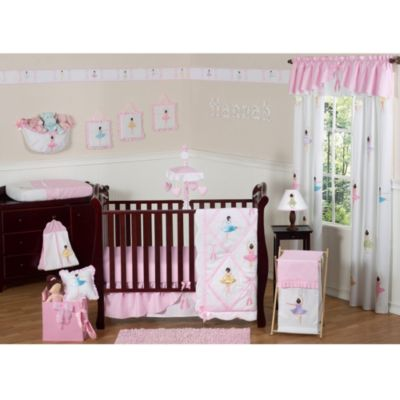 Sweet Jojo Designs Ballerina 11-Piece Crib Bedding Set