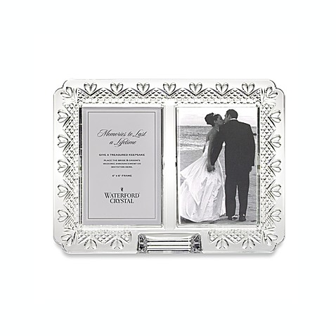 Waterford® Wedding Announcement Crystal Frame