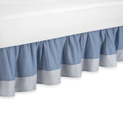Sweet Jojo Designs Come Sail Away Queen Bed Skirt