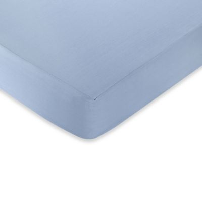 Sweet Jojo Designs Come Sail Away Fitted Crib Sheet in Blue