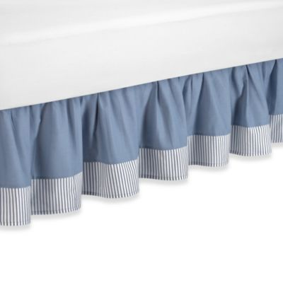 Come Sail Away Bed Skirt