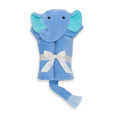Elegant Baby® Elephant Bath Wrap in Bright Blue