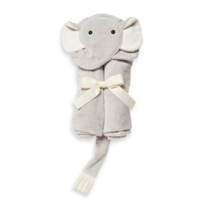 Elegant Baby® Elephant Bath Wrap in Grey