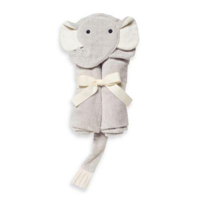 Elegant Baby® Elephant Bath Wrap in Grey