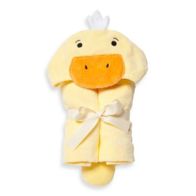 Elegant Baby® Ducky Bath Wrap in Yellow