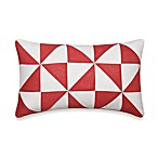 Nautica® Lawndale Boudoir Oblong Toss Pillow in Coral