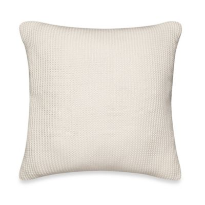 Nautica® Lawndale Knit Square Throw Pillow in Ivory