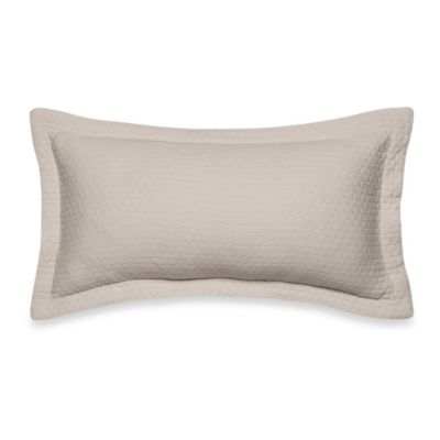 Wamsutta® Kingston Honeycomb Oblong Toss Pillow