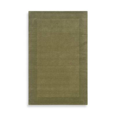 Rizzy Home 2-Foot x 3-Foot Bordered Platoon Area Rug in Green