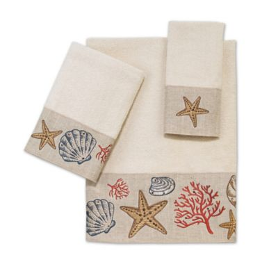 Avanti Sea Treasure Wash Cloth