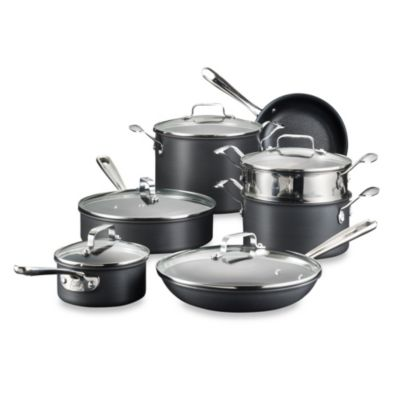 Hard Anodized 12-Piece Cookware Set
