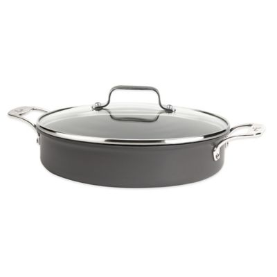 Emerilware™ Hard Anodized Dishwasher Safe Nonstick 5-Quart Chef's Pan with Lid