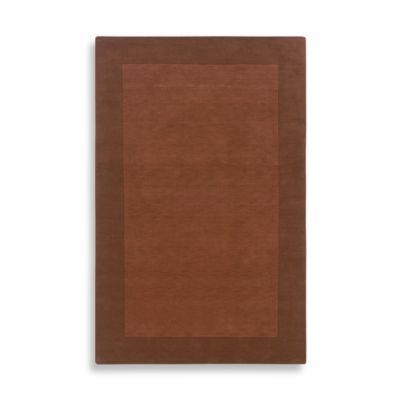 Rizzy Home Platoon Collection Terracotta Rug
