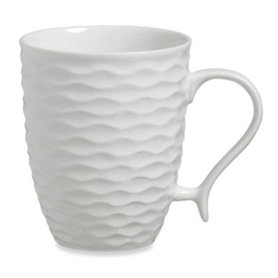 Luigi Bormioli 4-Piece Mug Set in Gusto White