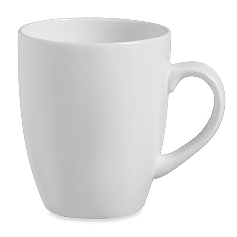 Luigi Bormioli Veridico 4-Piece Mug Set in White