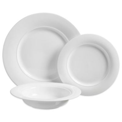 Luigi Bormioli Vivendo 12-Piece Dinnerware Set in White