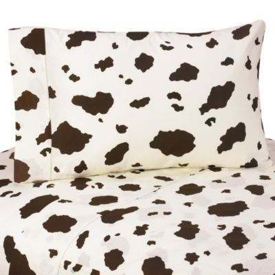 Sweet Jojo Designs Cowgirl 3-Piece Queen Sheet Set
