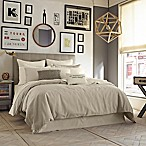 Kenneth Cole Reaction Home Mineral Linen/Cotton Duvet Cover in Oatmeal