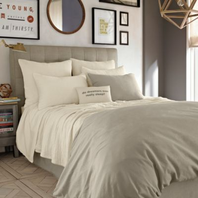 Kenneth Cole Reaction Home Mineral Coverlet Pillow Sham in Oatmeal