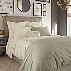 Kenneth Cole Reaction Home Mineral Coverlet In Oatmeal