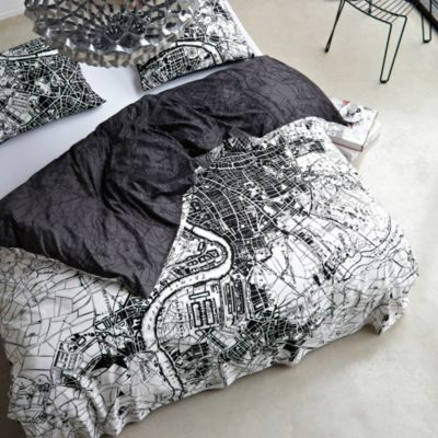 Baxter Reversible Duvet Cover and Sham Set