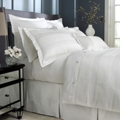Charisma Isabella King Pillow Sham in White