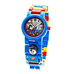 LEGO® DC Universe™ Super Heroes Superman™ Minifigure Kid's Watch