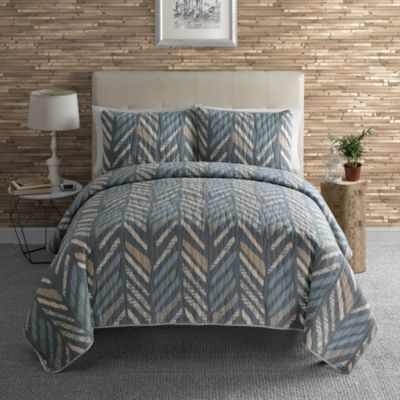 Jasper Full/Queen 3-Piece Quilt Set