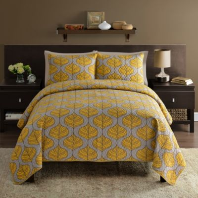 Thrive Full/Queen 3-Piece Quilt Set